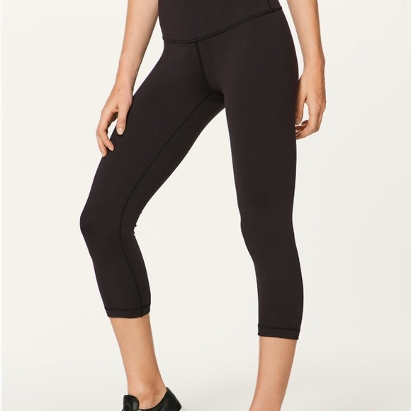 717c8d94ab763 lululemon athletica Pants | Lulu Lemon Crop Leggings | Poshmark